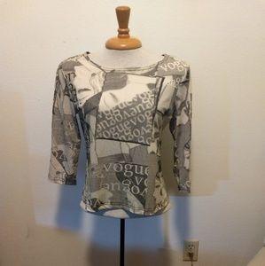 Vintage Entity graphic Vogue shirt